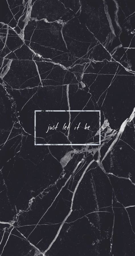 black marble just let it be quote grunge aesthetic