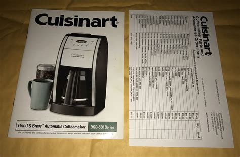 The units mentioned above are the golden eggs by the brand and are doing exceptionally well for a long time. 30 Cuisinart Coffee Maker Parts Diagram - Wiring Diagram Database