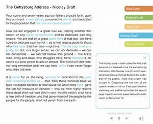 gettysburg address speech analysis