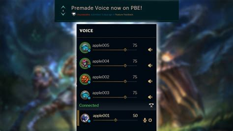 In-game Voice Chat For Lol Is Finally Here On The Pbe