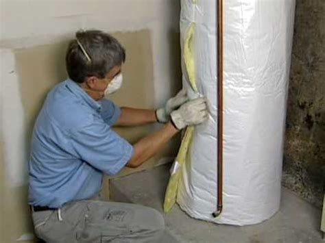 water heater shed water heater insulation blanket