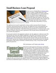Small Business Loan Proposal