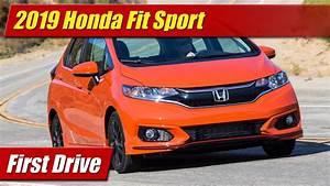 2019 Honda Fit Sport  First Drive