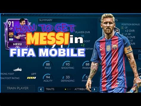 how to get messi for free in fifa mobile 19