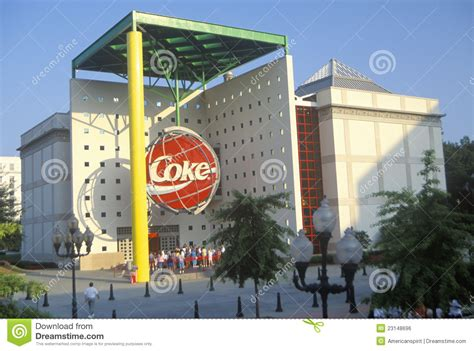 siege social coca cola former of coca cola atlanta ga editorial photo