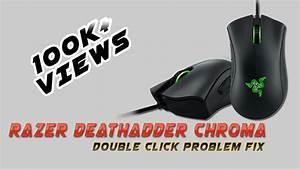 Razer DeathAdder Chroma Double Click Issue fix - YouTube