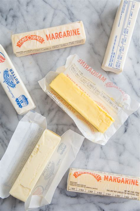 difference between butter and margarine what s the difference between butter and margarine kitchn