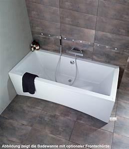 Badewanne Mit Schürze : acryl badewanne 170 x 75 f e ablauf wandleisten ~ A.2002-acura-tl-radio.info Haus und Dekorationen