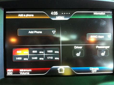 Ford Fusion My Ford Sync Touch Wallpapers.html