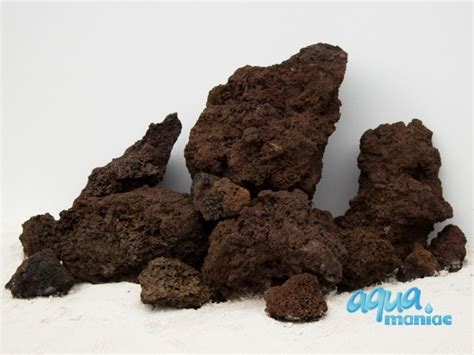aquarium brown lava rocks   fish tank hard scape