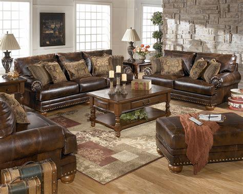 Leather Livingroom Sets by Antique Leather Sofa Traditional Living Room Furniture Set