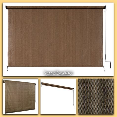 l shades for 8 ft window sun shade blind roller roll up outdoor
