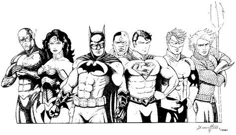 justice league coloring pages getcoloringpages com