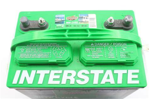 interstate batteries cycle rv deep battery marine listing 1764 propertyroom