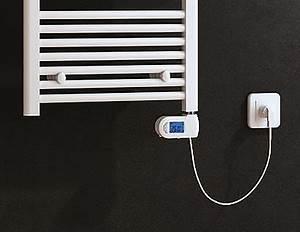 Badheizkörper Elektrisch Mit Thermostat : heizstab elektrisch e700w f r badheizk rper mit digitalem thermostat in wei badewelt ~ Frokenaadalensverden.com Haus und Dekorationen