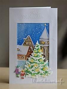 Edle Weihnachtskarten Basteln : weihnachtskarten basteln serviettentechnik ~ A.2002-acura-tl-radio.info Haus und Dekorationen