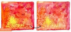 Farbe Fixieren Mit Salz : 6 tolle effekte mit aquarellfarben diy malen ~ Watch28wear.com Haus und Dekorationen