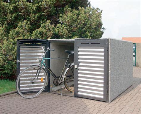 Fahrradgarage 2 Dd Design Typ W Illmann Gmbh & Co Kg