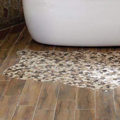 Mosaic Tile Shower Floor - bathroom tile