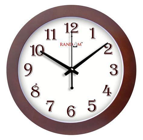 Decorative Clock - random home decor wooden wall hanging clock large indoor