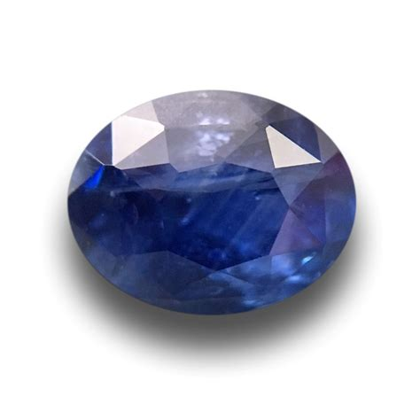 1 18 carats natural blue sapphire gemstone new certified sri lanka