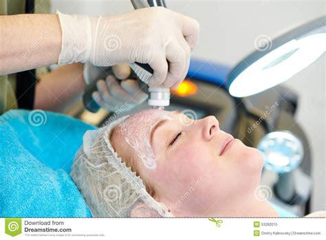 video treatment laser cosmetology treatment stock photo image 53282015