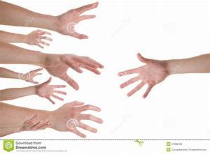 Hands Reaching For A Helping Hand Stock Image - Image ...