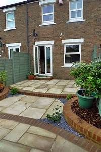 excellent patio and garden design ideas Gardens, Exciting Small Yard Design Low Maintenance Garden Ideas Paving And Patio London ...
