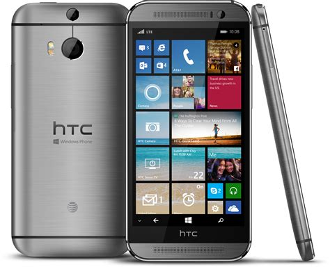 new windows phones at t is getting htc s new one m8 with windows phone