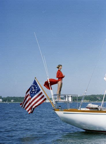 Boat Anchor with American Flag