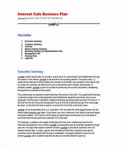 29 business plan templates free premium templates With internet startup business plan template