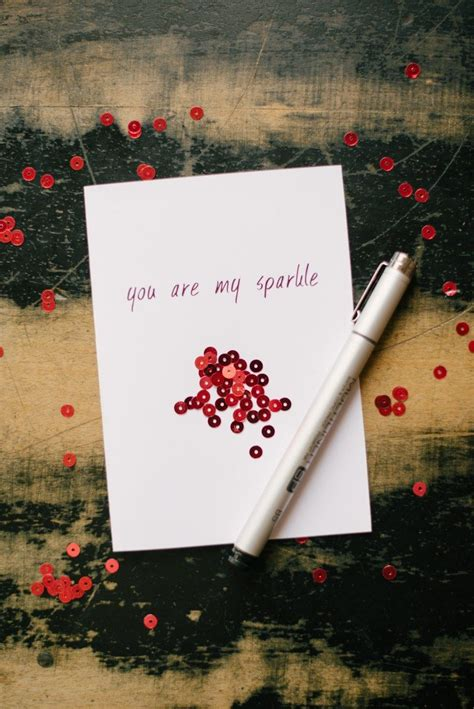 sparkle valentines day card pictures