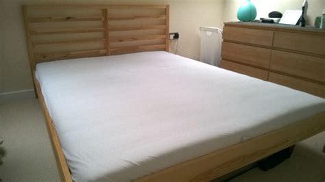 Ikea Tarva Bed Frame + Malvik Mattress Standard King Size
