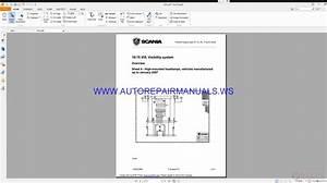 Scania Trucks Wiring System Service Training Manual
