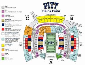 Heinz Field Seating Chart With Seat Numbers