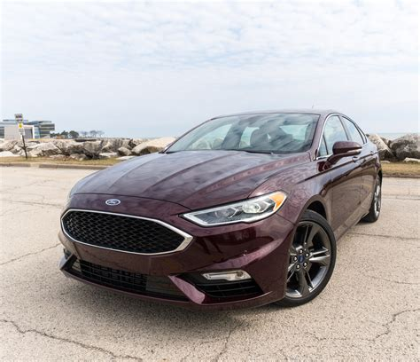 ford fusion sport review daily driver   dash