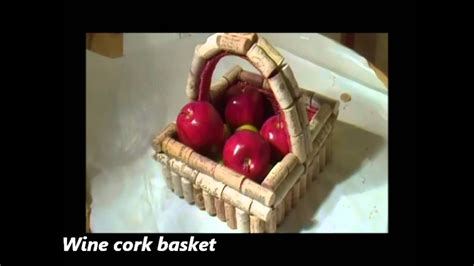 wine bottles corks craft ideas youtube