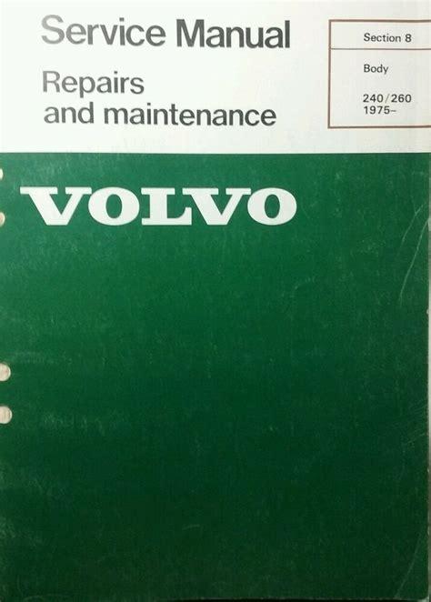 ebay sponsored volvo   service manual body