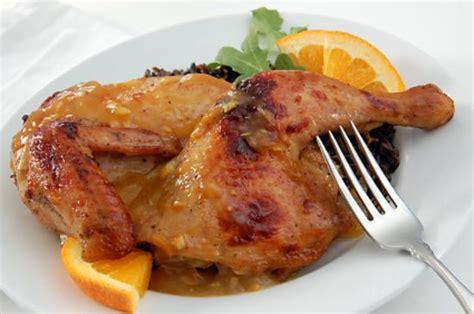 recette de cuisine cuisse de poulet recette de cuisse de poulet nappage a l orange