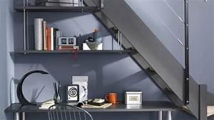 Bureau Sous Escalier : des rangements sous escalier ~ Farleysfitness.com Idées de Décoration