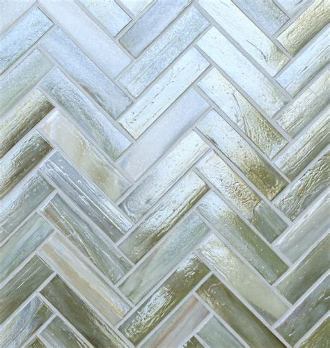 lunada bay tile agate glass 1 x 4 herringbone color palette