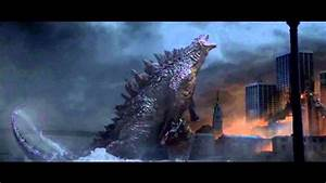 Make Your Own Flyers Godzilla 2014 Victory Roar Extended Scene Youtube
