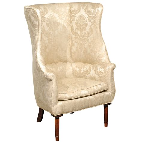 large barrel back wing chair for sale at 1stdibs