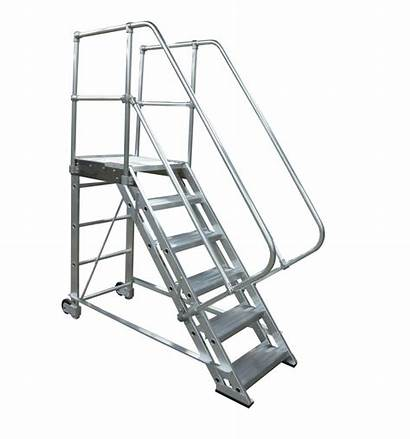 Stairs Rolling Aluminum Removable Stairways Ladder Stair