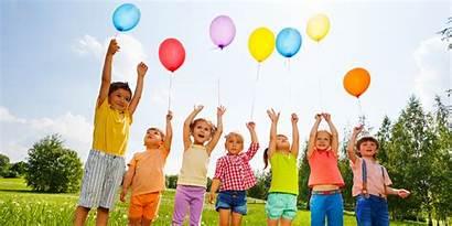 Balloons Happy Children Social Bath Navigation