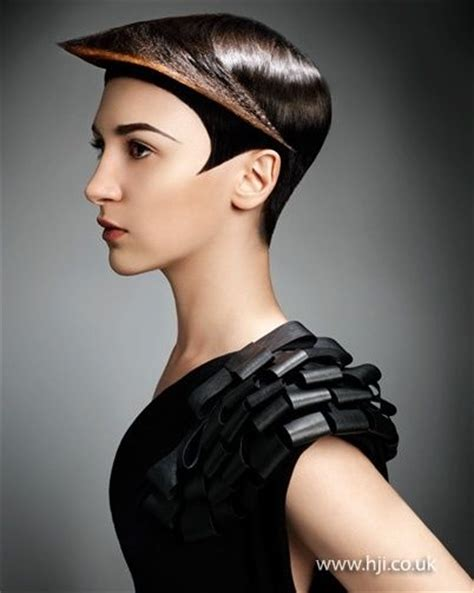 hair clothing styles 2012 graphic cropped hair hairstyle future futuristic 5241