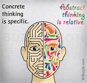 Estimating Risk Concrete Thinking Vs Abstract Thinking