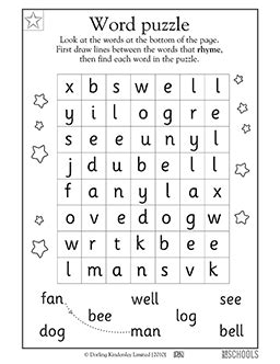 kindergarten preschool reading writing worksheets word