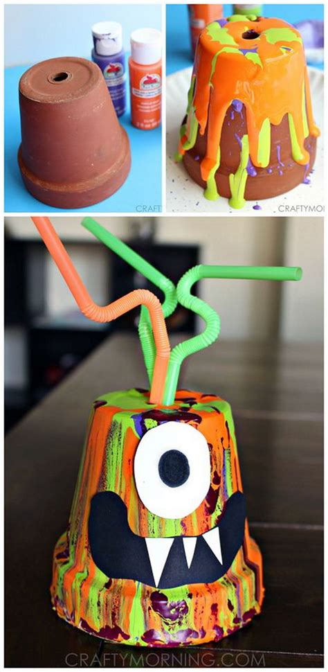 34 Fun & Easy Halloween Crafts For Kids To Make  Listing More
