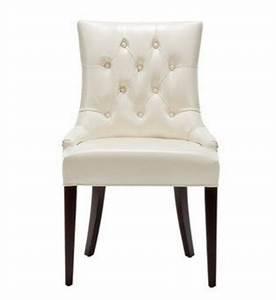 cream leather dining chairs whereibuyitcom With cream leather dining room chairs